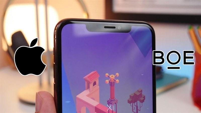 Samsung và LG chắc sẽ buồn, BOE đang tích cực làm việc để trở thành nhà cung cấp màn hình OLED cho iPhone
