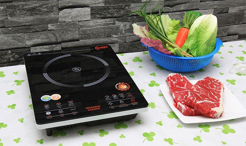 Hướng dẫn sử dụng bếp hồng ngoại đúng cách và tiết kiệm điện