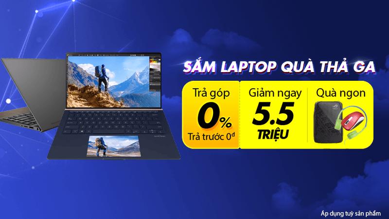 Laptop giảm giá tháng 3