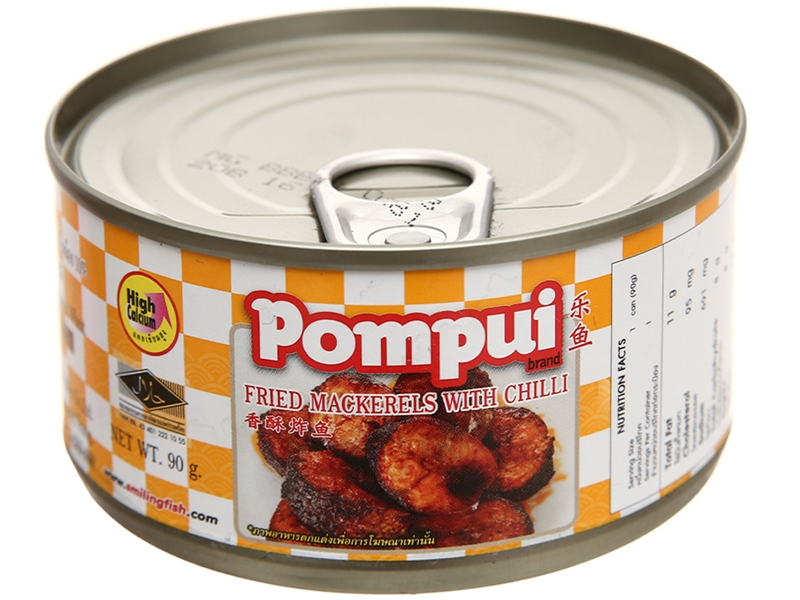 Cá hộp Pompui
