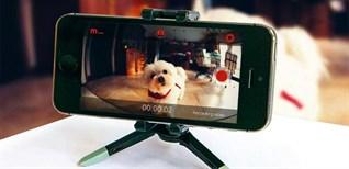 Mẹo biến chiếc điện thoại cũ thành camera giám sát trong nhà