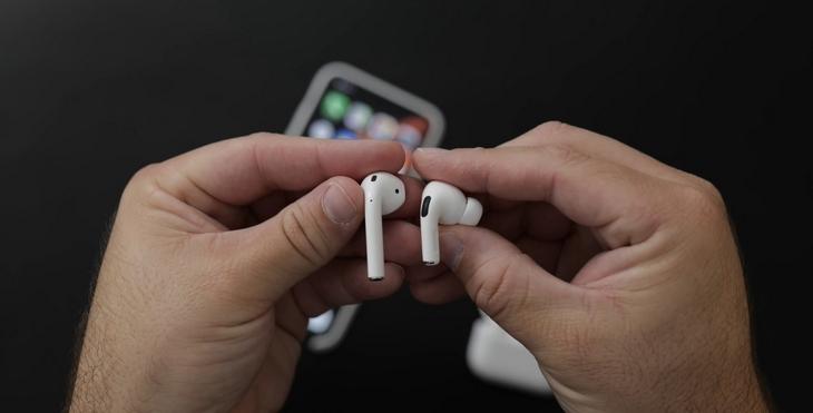 Thiết kế khá dị so với phiên bản AirPods tiền nhiệm - Apple AirPods Pro