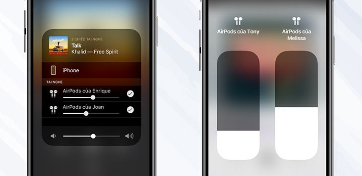 Tính năng chia sẻ Audio - Apple AirPods Pro