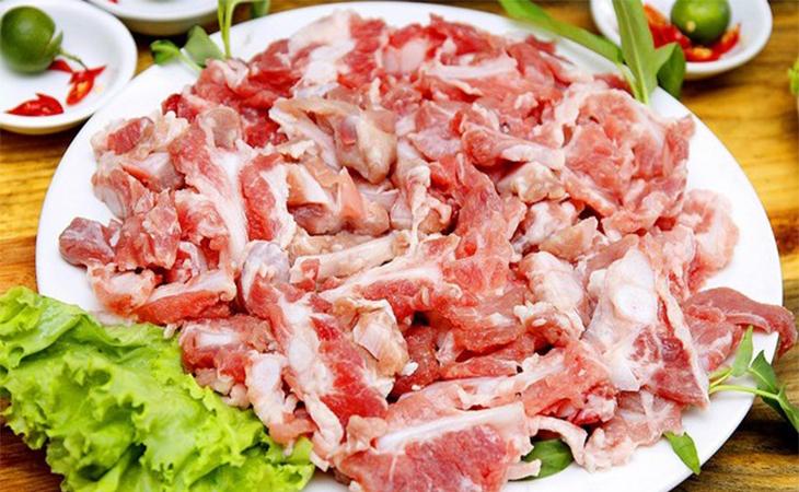 Bước 1 Sơ chế nguyên liệu Lẩu riêu cua bắp bò