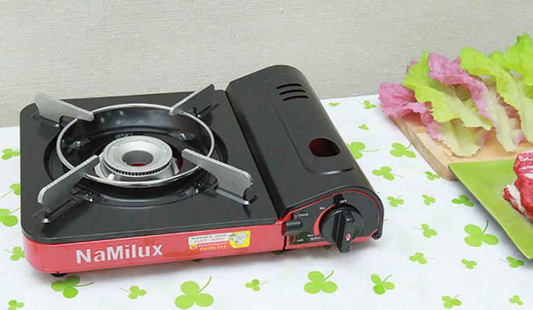 Cách làm sạch bếp gas mini