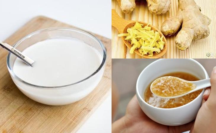 Bước 3 Làm nước chấm Bánh đúc ngọt (bánh đúc lá dứa)
