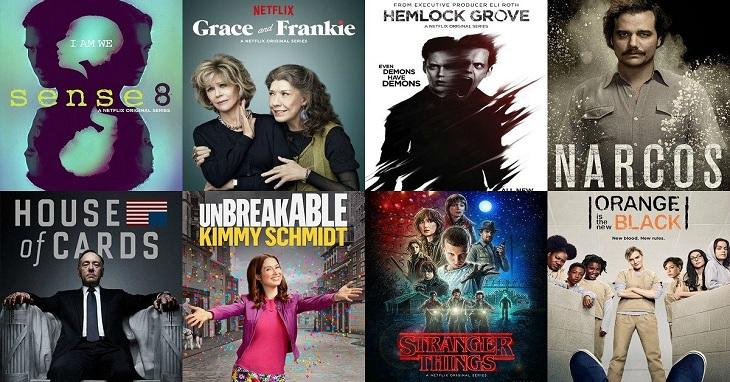 Một số phim của Netlix Original