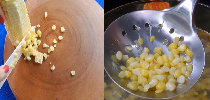 Bước 1 Sơ chế nguyên liệu Trứng cút nướng chén