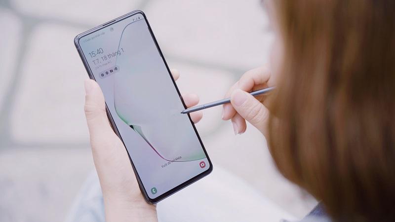 Galaxy Note 10 Lite nhận bản cập nhật phần mềm mới