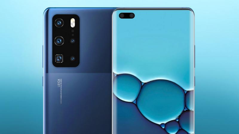 Huawei P40 Pro lộ diện thông số chi tiết cụm camera sau
