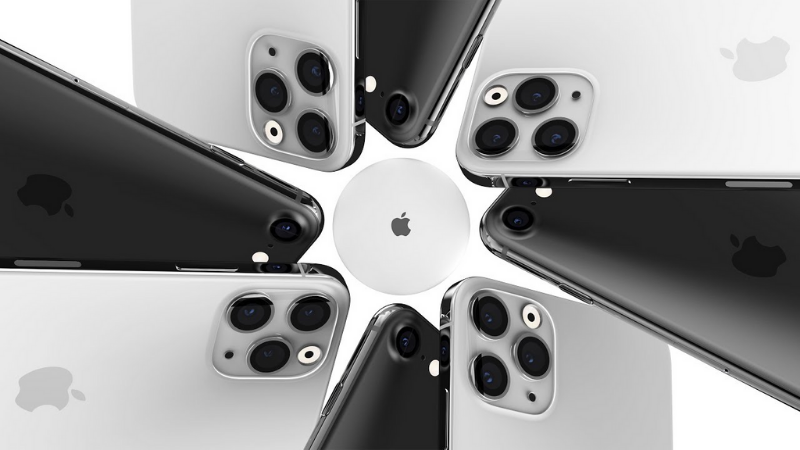 Apple trang bị hẳn cảm biến 64 MP cho iPhone 12 Pro, hỗ trợ Chế độ chụp đêm cho cả camera selfie và tele
