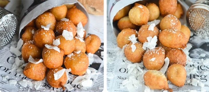 Bước 4 Thành phẩm Bánh dừa chiên