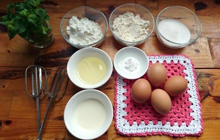 Nguyên liệu món ăn bánh dừa