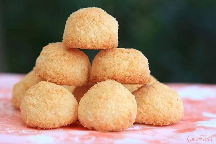 Bước 4 Thành phẩm Bánh dừa sấy