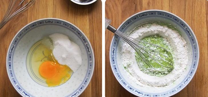 Bước 1 Sơ chế nguyên liệu Bánh dừa hấp kiểu Thái