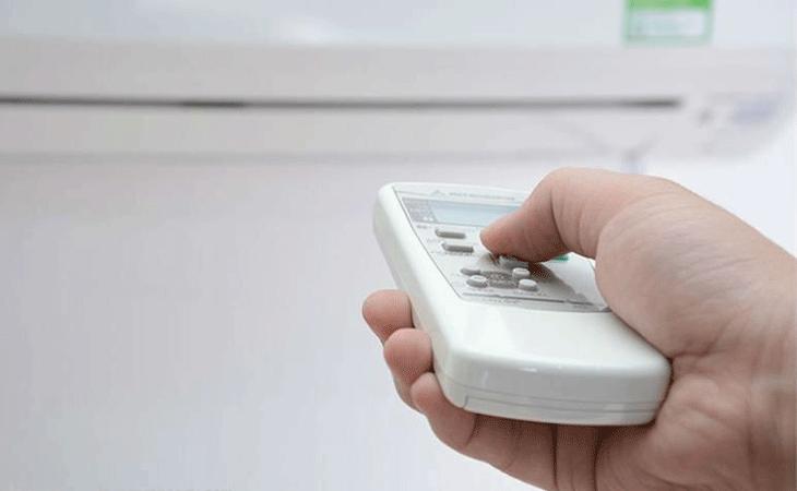 Không nên bật tắt máy lạnh thường xuyên