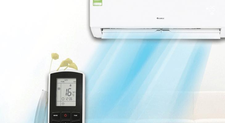 Không nên chỉnh nhiệt độ quá thấp ngay khi bước vào phòng
