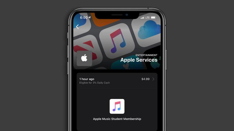 iOS 13.4: Giao diện Apple Card mới hiển thị chi tiết thông tin giao dịch
