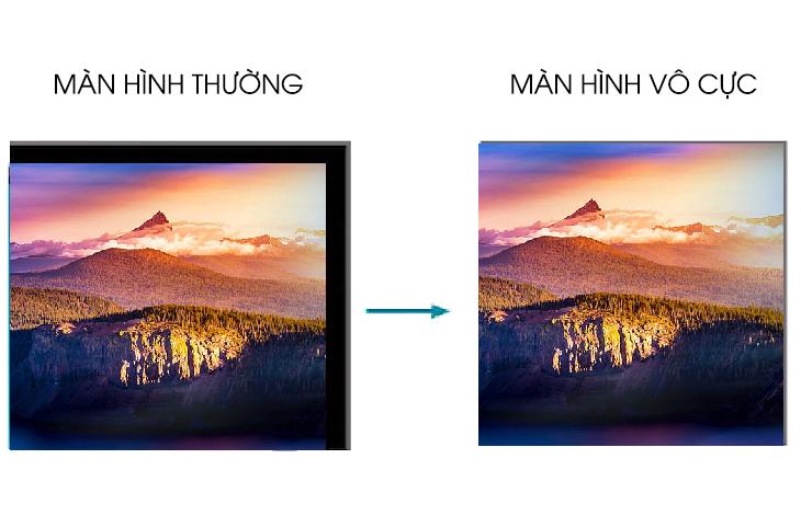 Màn hình vô cực - Tivi Samsung 2020