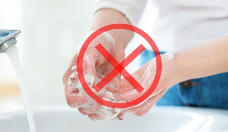 Những sai lầm dễ mắc phải khi rửa tay khiến vi khuẩn lúc nào cũng còn sót lại