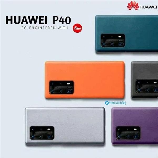 Xuất hiện hình ảnh quảng cáo mới tiết lộ Huawei P40, P40 Pro sẽ có 5 tùy chọn màu sắc khác nhau