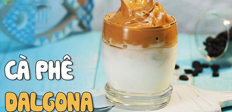 [Video] Cách làm cà phê bọt biển (cà phê Dalgona Hàn Quốc) thơm ngon dễ làm tại nhà