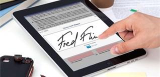 Cách ký tài liệu trên iPhone hoặc iPad cực chất