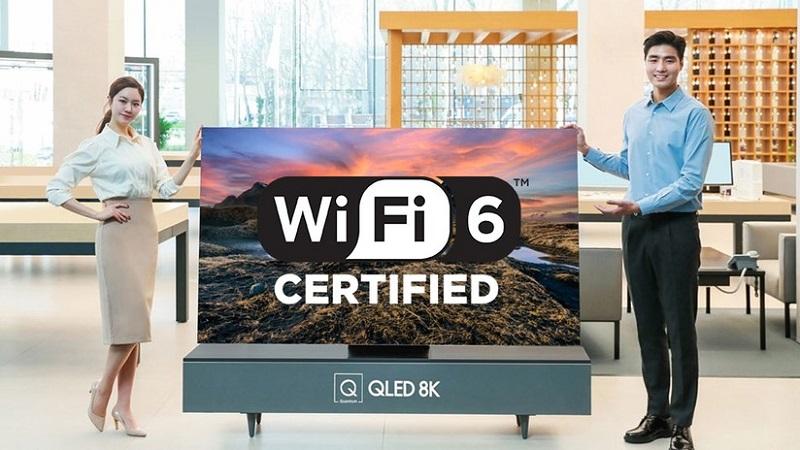 Samsung bắt tay MediaTek ra mắt TV 8K tích hợp Wi-Fi 6 đầu tiên trên thế giới