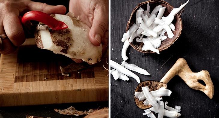 Bước 2 Làm nước cốt dừa Nước cốt dừa