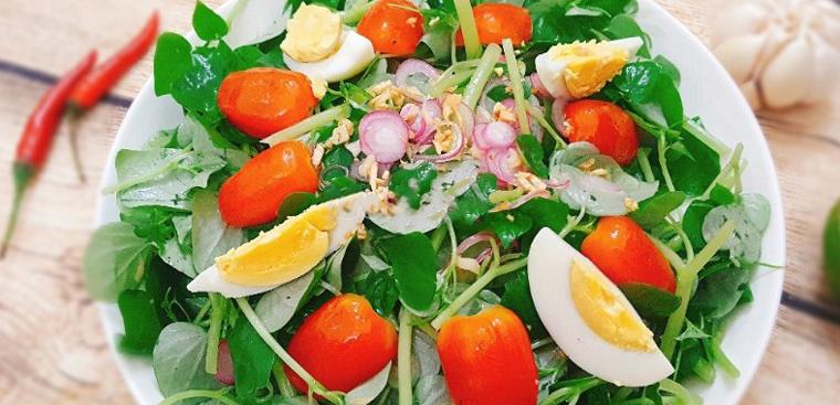 3 món ăn với rau càng cua