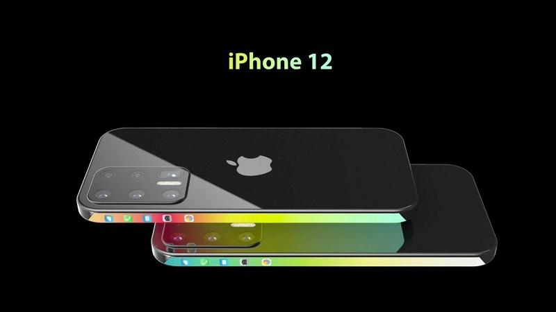 Ngất ngây trước concept iPhone 12 với thiết kế màn hình tràn viền có thể dùng cảm ứng ở 2 cạnh bên, 6 camera sau, có thêm màn hình nhỏ ở đỉnh máy