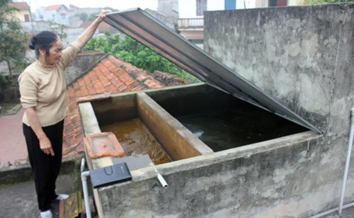 Lọc nước mưa bằng máy lọc nước