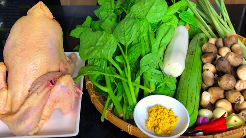 Cách nấu lẩu gà hầm sả thơm ngon, gà dai đậm vị
