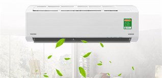 5 lí do nên mua máy lạnh Toshiba Inverter 1 HP RAS-H10D2KCVG-V