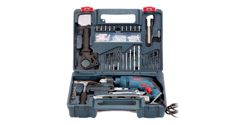 bộ dụng cụ sửa chữa có máy khoan