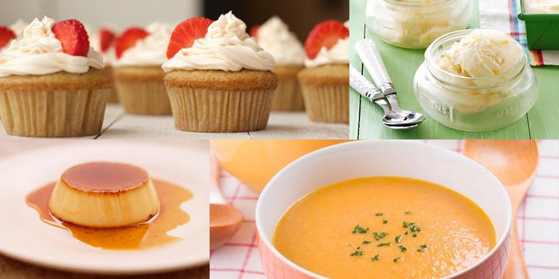 whipping cream có thể làm được nhiều món ăn khác