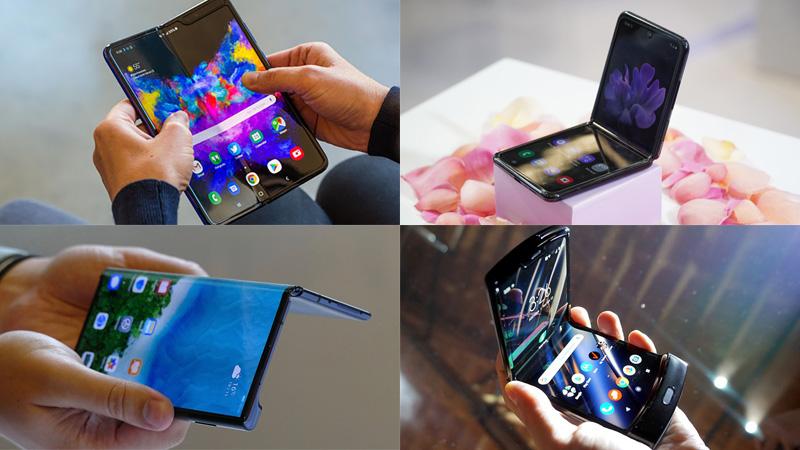 Smartphone màn hình thường vs Smartphone màn hình gập  Smartphone màn hình thường vs Smartphone màn hình gập 4sm 800x450