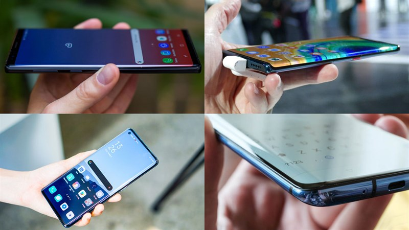 Smartphone màn hình thường vs Smartphone màn hình gập  Smartphone màn hình thường vs Smartphone màn hình gập cong 1280x720 800 resize