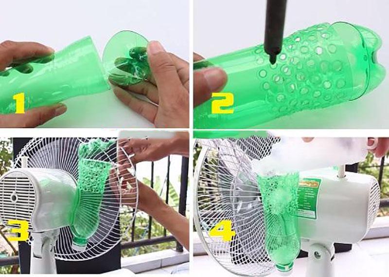 Cách làm quạt hơi nước