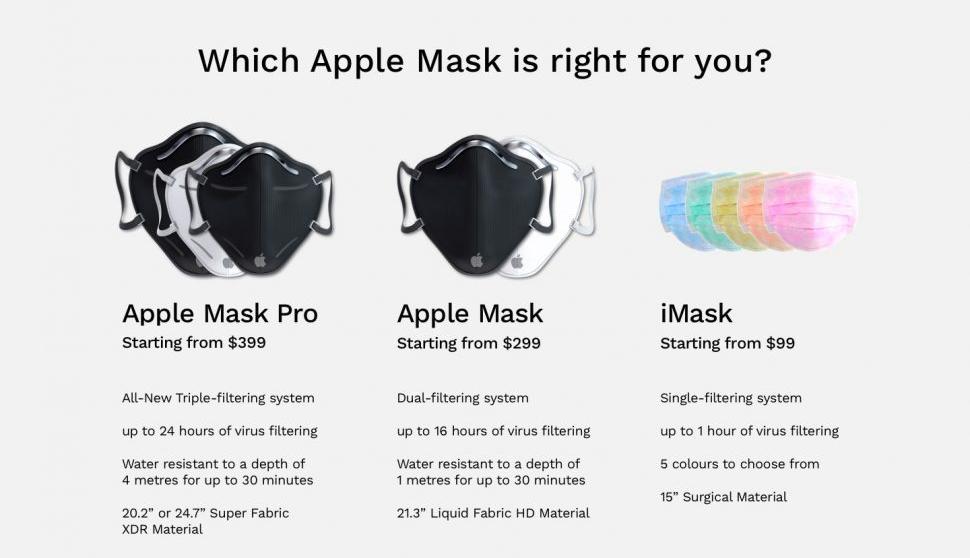 Apple lên ý tưởng chuyển sang bán khẩu trang có giá từ 2.3 triệu