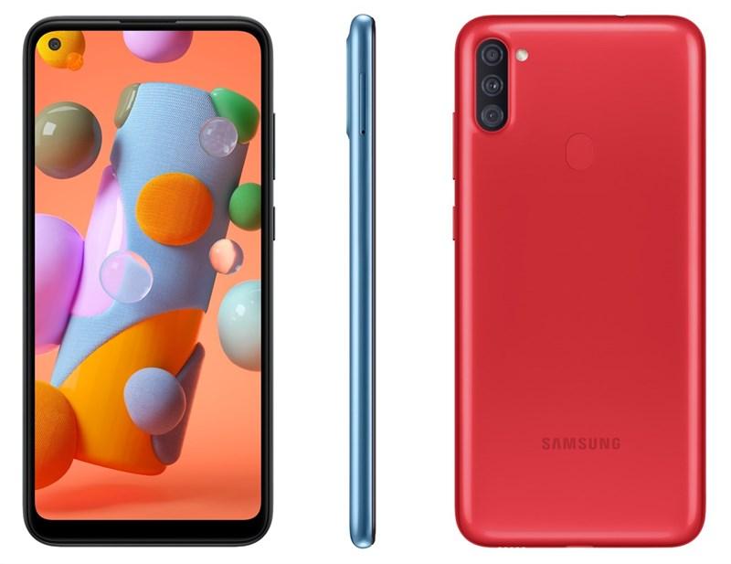 Samsung Galaxy A11 giá rẻ ra mắt: Chip 8 nhân, 3 camera sau, pin 4.000 mAh cùng màn hình nốt ruồi 6.4 inch