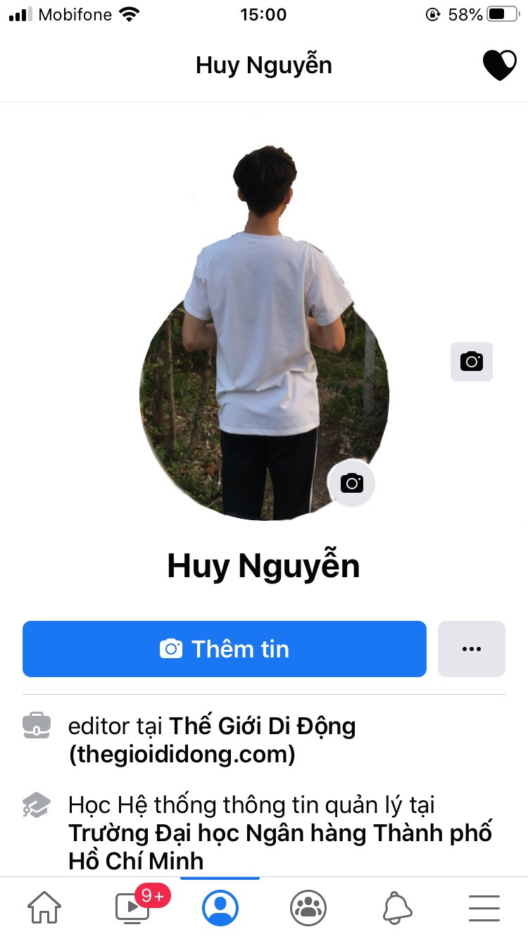 Chỉnh avatar Facebook