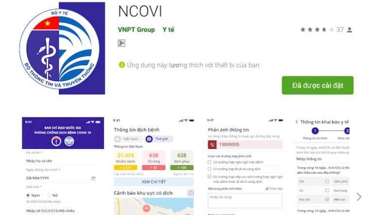 Cách khai báo y tế qua App ngay trên điện thoại của bạn