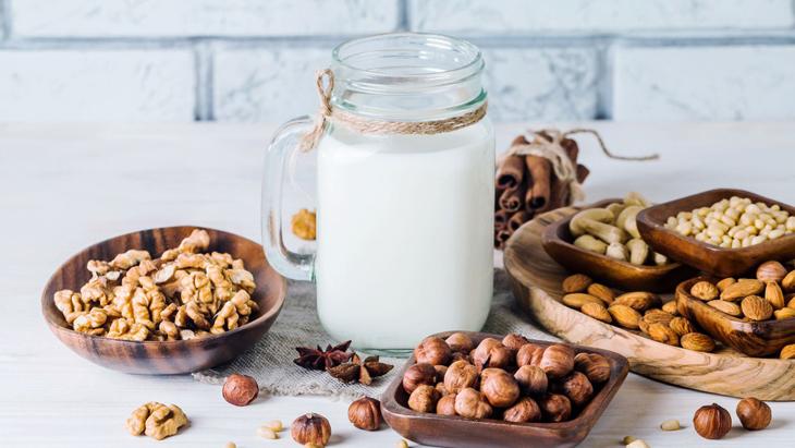 các loại sữa hạt