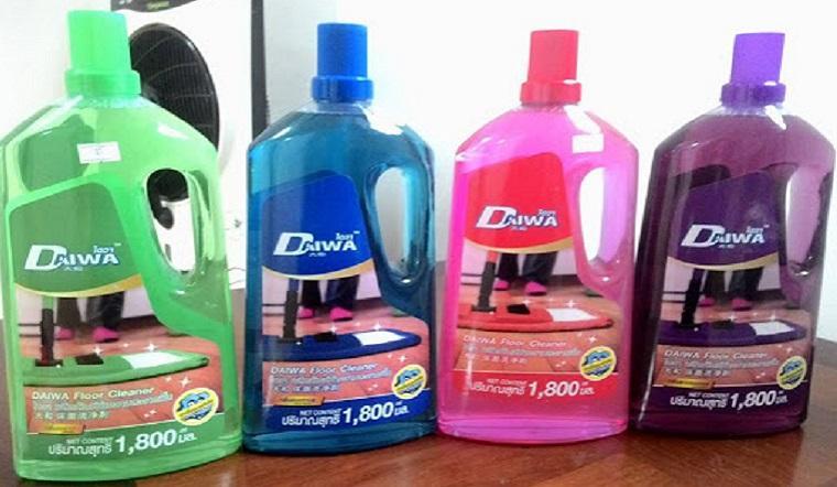 Nước lau sàn diệt khuẩn Daiwa, diệt sạch đến 99,9% vi khuẩn