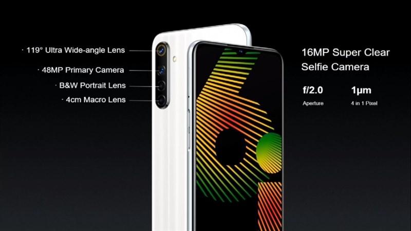 Realme 6i ra mắt: Chip Helio G80, 4 camera 48MP, pin 5.000 mAh hỗ trợ sạc ngược không dây, giá chỉ 4.1 triệu đồng