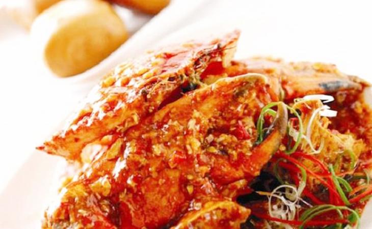Món ghẹ xốt tương cay kiểu Hàn