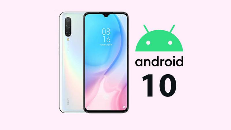 Người dùng Xiaomi Mi 9 Lite đang dần nhận được bản cập nhật Android 10