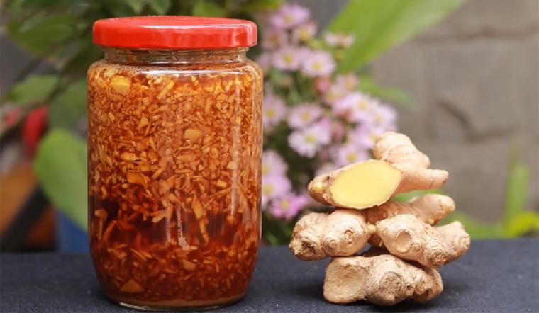 Cách làm và sử dụng gừng ngâm mật ong tăng đề kháng & tốt cho sức khoẻ