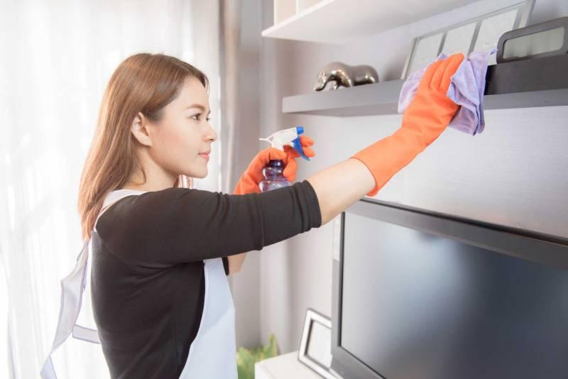 Tự pha dung dịch khử khuẩn nhà cửa tại nhà